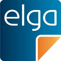 Logo: elga
